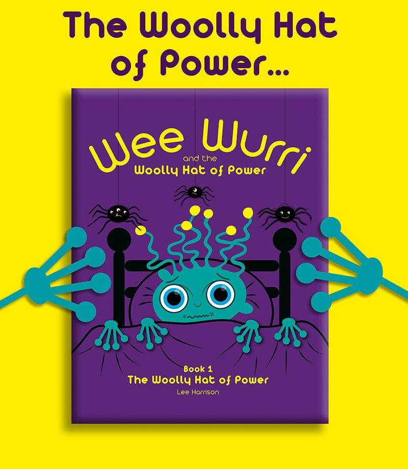 Wee Wurri and The Woolly Hat of Power Book 1