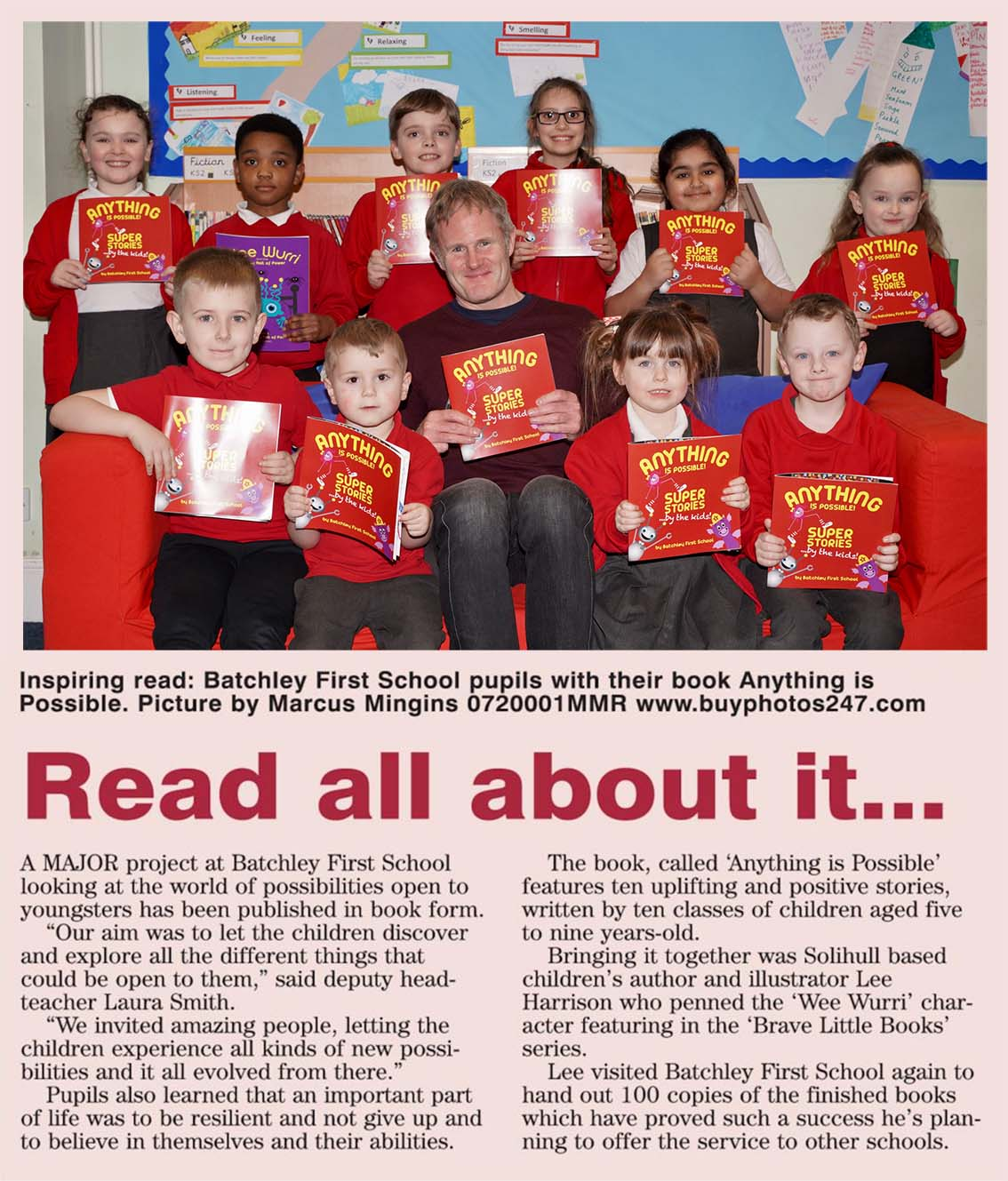 Batchley School Our School Wrote a Book